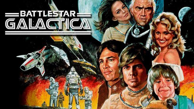 Netflix Serie - Battlestar Galactica (1978) - Nu op Netflix