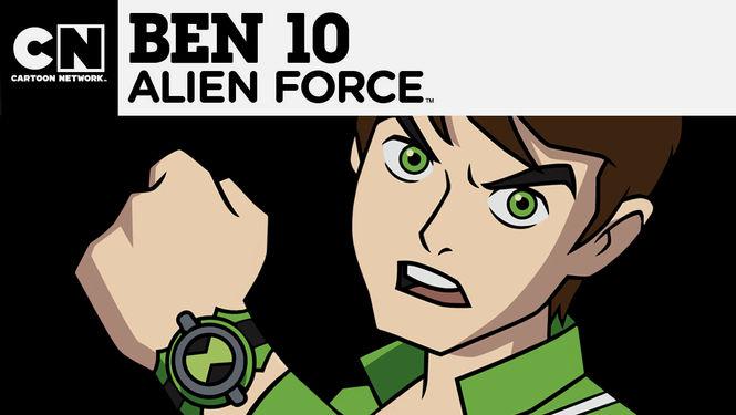 Netflix Serie - Ben 10: Alien Force - Nu op Netflix