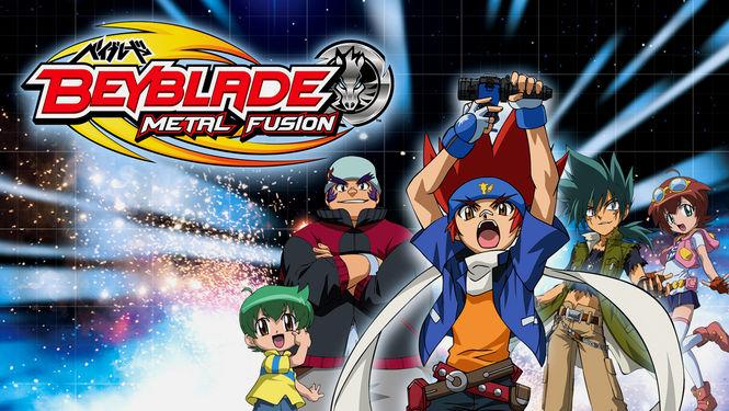 Netflix Serie - Beyblade: Metal Fusion - Nu op Netflix