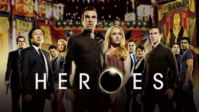 Netflix Serie - Heroes - Nu op Netflix