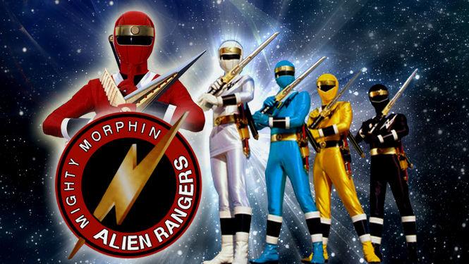 Netflix Serie - Mighty Morphin Alien Rangers - Nu op Netflix
