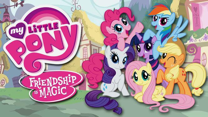 Netflix Serie - My Little Pony: Friendship Is Magic - Nu op Netflix