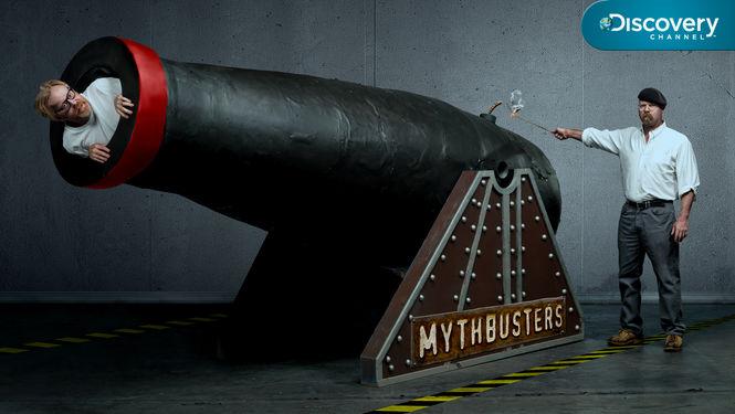 Netflix Serie - MythBusters - Nu op Netflix