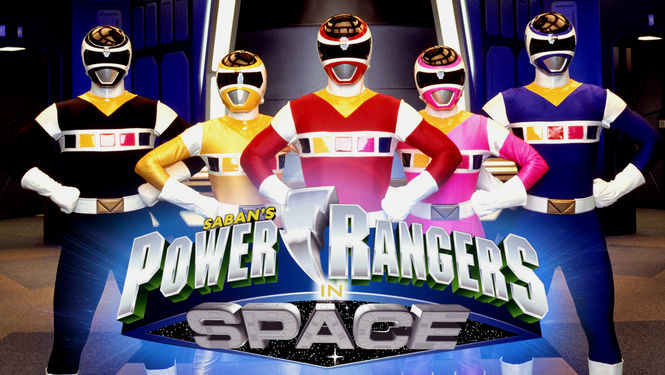Netflix Serie - Power Rangers in Space - Nu op Netflix