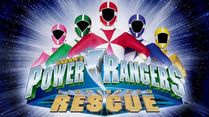 Netflix Serie - Power Rangers Lightspeed Rescue - Nu op Netflix