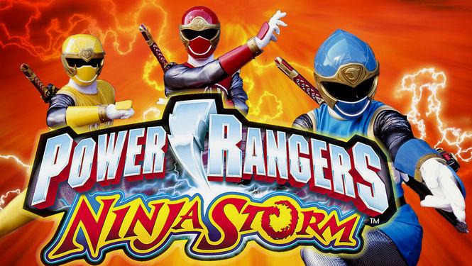 Netflix Serie - Power Rangers Ninja Storm - Nu op Netflix