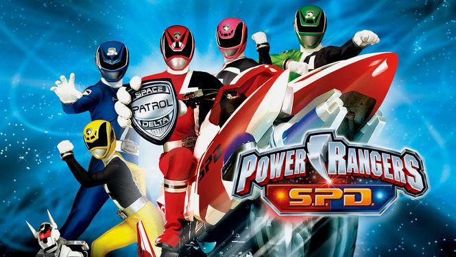 Netflix Serie - Power Rangers S.P.D. - Nu op Netflix