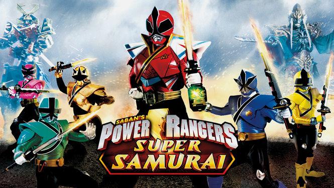 Netflix Serie - Power Rangers Super Samurai - Nu op Netflix