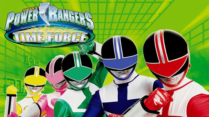 Netflix Serie - Power Rangers Time Force - Nu op Netflix