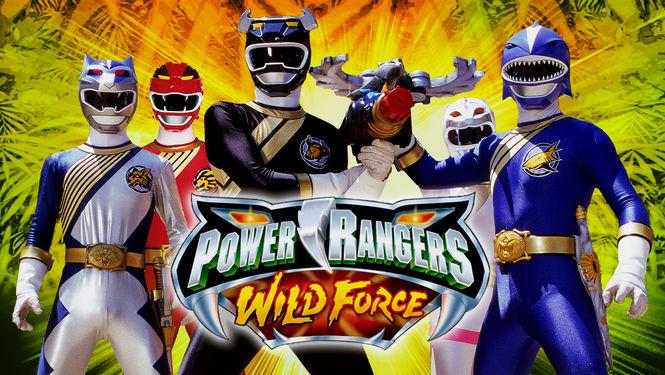Netflix Serie - Power Rangers Wild Force - Nu op Netflix