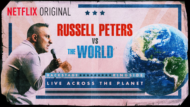 Netflix Serie - Russell Peters vs. the World - Nu op Netflix
