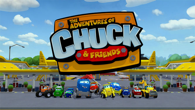Netflix Serie - The Adventures of Chuck & Friends - Nu op Netflix