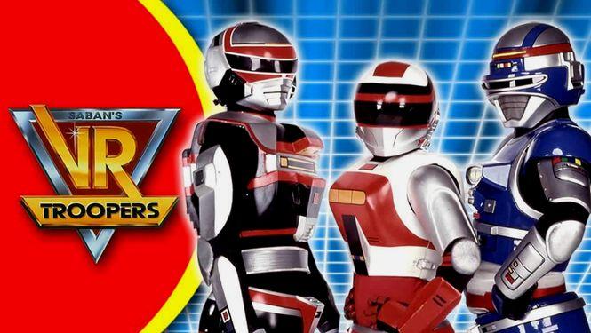 Netflix Serie - V.R. Troopers - Nu op Netflix