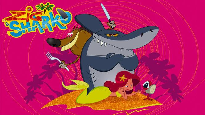 Netflix Serie - Zig & Sharko - Nu op Netflix