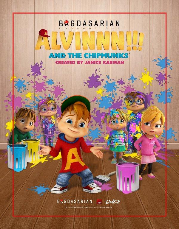 Netflix Serie - Alvinnn!!! And the Chipmunks - Nu op Netflix