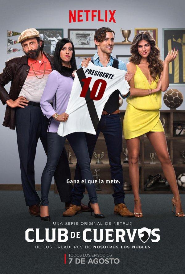 Netflix Serie - Club de Cuervos - Nu op Netflix