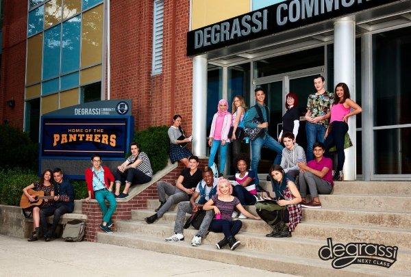 Netflix Serie - Degrassi: Next Class - Nu op Netflix