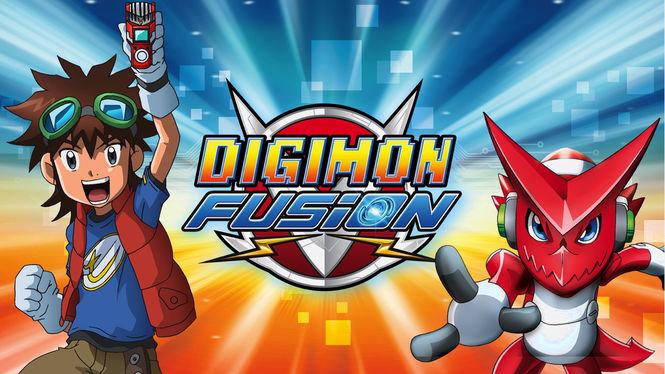 Netflix Serie - Digimon Fusion - Nu op Netflix