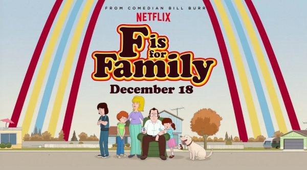 Netflix Serie - F is for Family - Nu op Netflix
