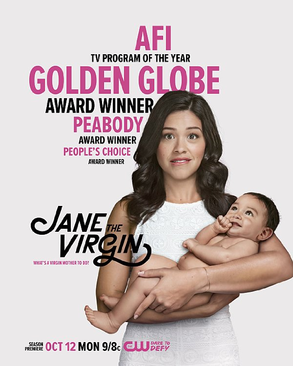 Netflix Serie - Jane The Virgin - Nu op Netflix