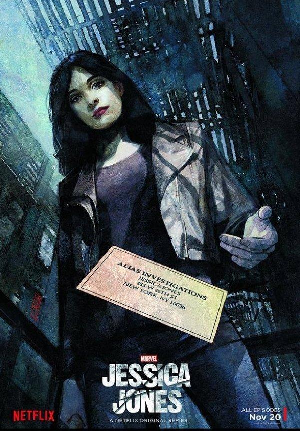 Netflix Serie - Jessica Jones - Nu op Netflix