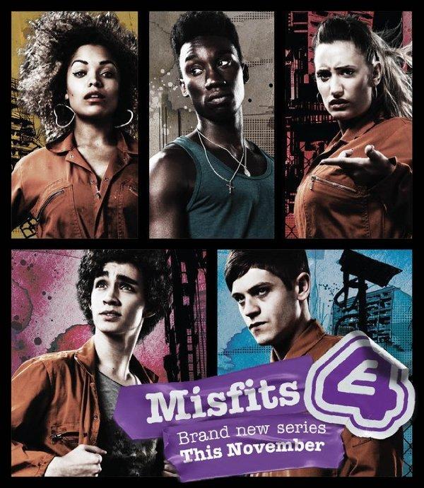 Netflix Serie - Misfits - Nu op Netflix