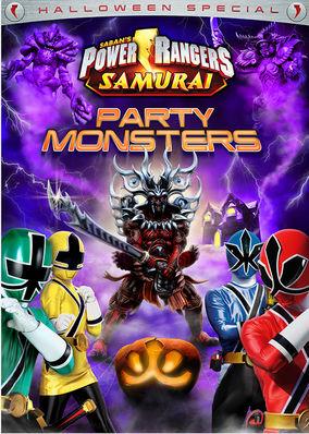Netflix Serie - Power Rangers Samurai: Party Monsters (Halloween Special) - Nu op Netflix