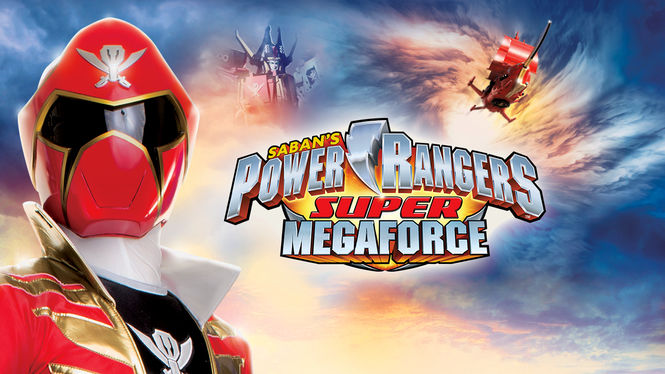 Netflix Serie - Power Rangers Super Megaforce - Nu op Netflix