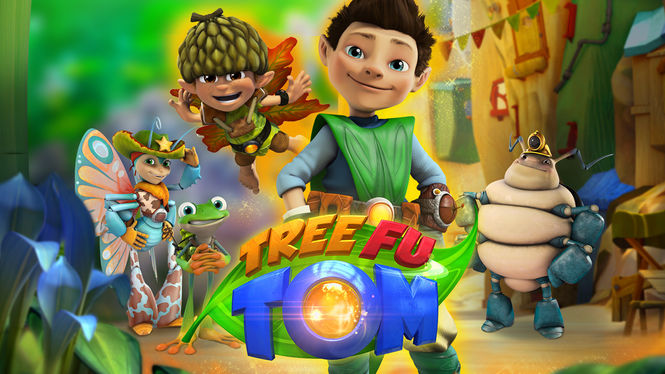 Netflix Serie - Tree Fu Tom - Nu op Netflix