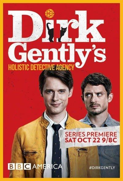 Netflix Serie - Dirk Gently's Holistic Detective Agency - Nu op Netflix