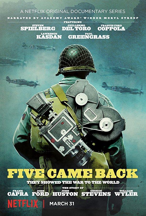 Netflix Serie - Five Came Back - Nu op Netflix