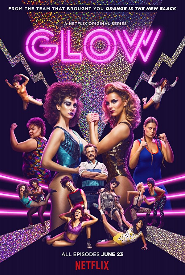Netflix Serie - GLOW - Nu op Netflix