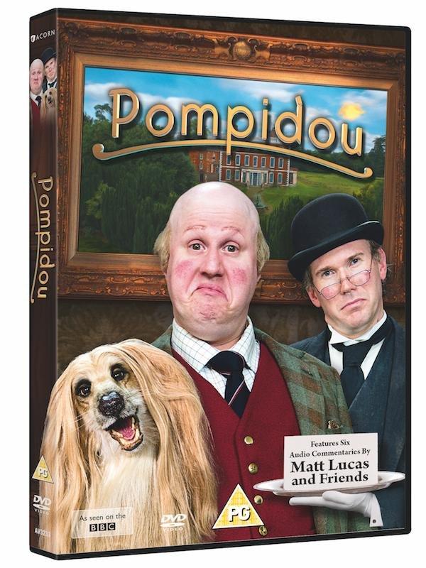 Netflix Serie - Pompidou - Nu op Netflix