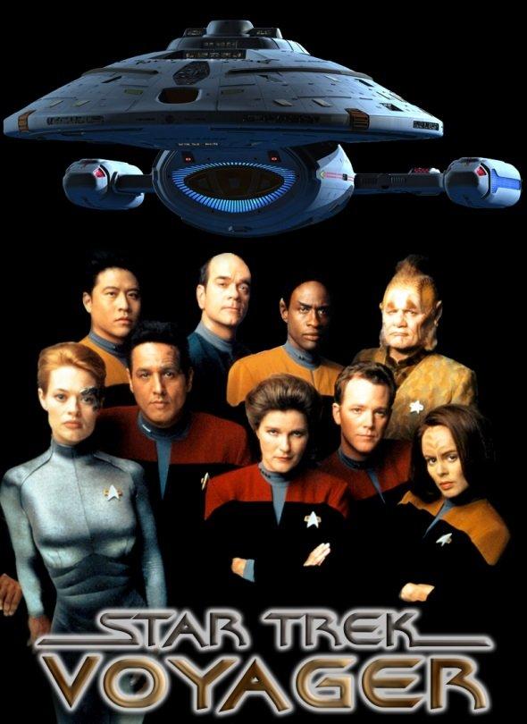 Netflix Serie - Star Trek: Voyager - Nu op Netflix