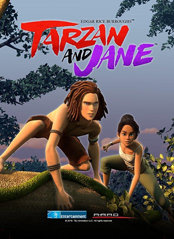 Netflix Serie - Tarzan and Jane - Nu op Netflix