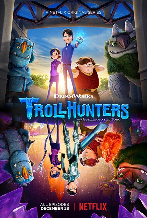 Netflix Serie - Trollhunters - Nu op Netflix