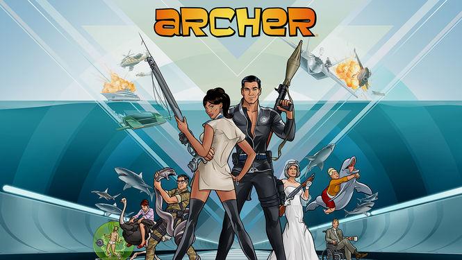 Netflix Serie - Archer - Nu op Netflix
