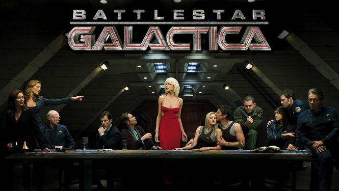 Netflix Serie - Battlestar Galactica - Nu op Netflix