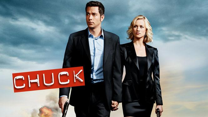 Netflix Serie - Chuck - Nu op Netflix