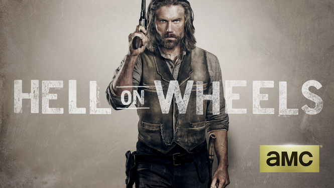 Netflix Serie - Hell on Wheels - Nu op Netflix