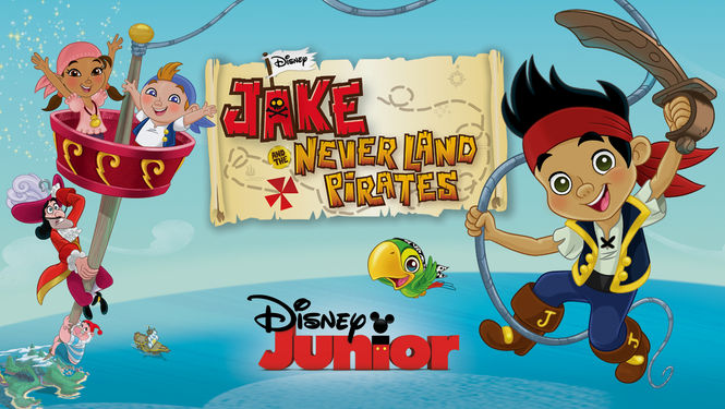 Netflix Serie - Jake and the Never Land Pirates - Nu op Netflix