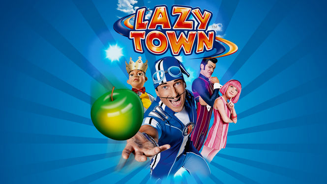 Netflix Serie - LazyTown - Nu op Netflix
