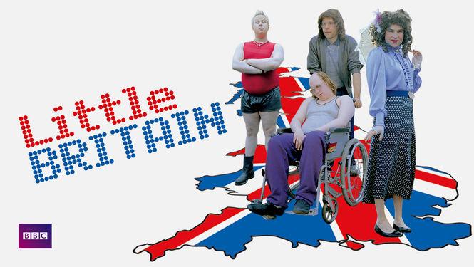 Netflix Serie - Little Britain - Nu op Netflix