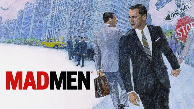 Netflix Serie - Mad Men - Nu op Netflix