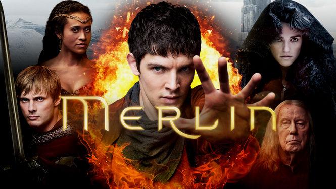 Netflix Serie - Merlin - Nu op Netflix
