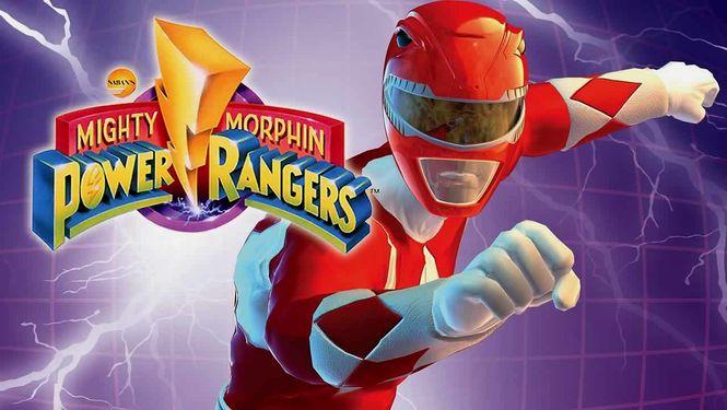 Netflix Serie - Mighty Morphin Power Rangers - Nu op Netflix