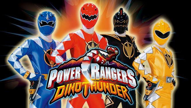 Netflix Serie - Power Rangers Dino Thunder - Nu op Netflix