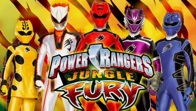 Netflix Serie - Power Rangers Jungle Fury - Nu op Netflix