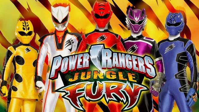 Netflix Serie - Power Rangers Jungle Fury - Nu op Netflix