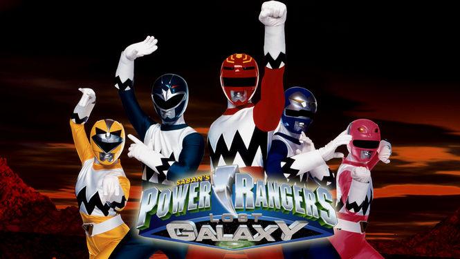 Netflix Serie - Power Rangers Lost Galaxy - Nu op Netflix